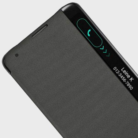 Official LG Stylus 2 Quick View Case - Black