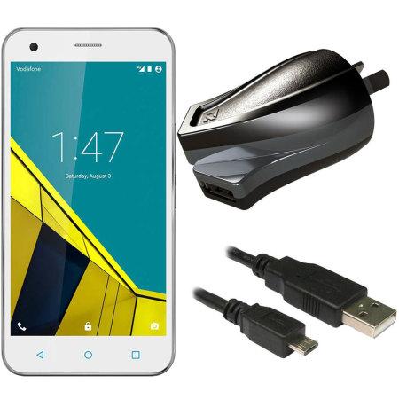 High Power 2.4A Vodafone Smart Ultra 6 Wall Charger - Australian Mains