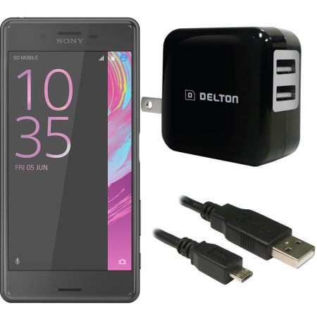 High Power 2.1A Sony Xperia X Performance Wall Charger - USA Mains