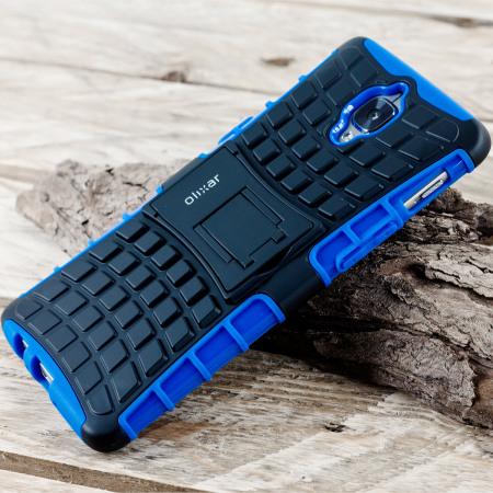 Olixar ArmourDillo OnePlus 3T / 3 Protective Case - Blue / Black