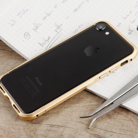 online store 6ed41 918f8 Luphie Blade Sword iPhone 7 Aluminium Bumper Case - Champagne Gold