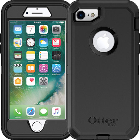 best sneakers a0723 f423c OtterBox Defender Series iPhone 8 Case - Black