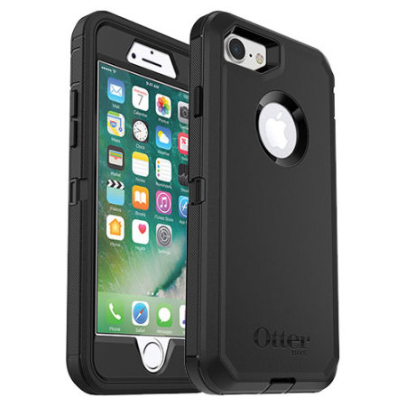 official photos 417cc 45448 OtterBox Defender Series iPhone 8 / 7 Plus Case - Black