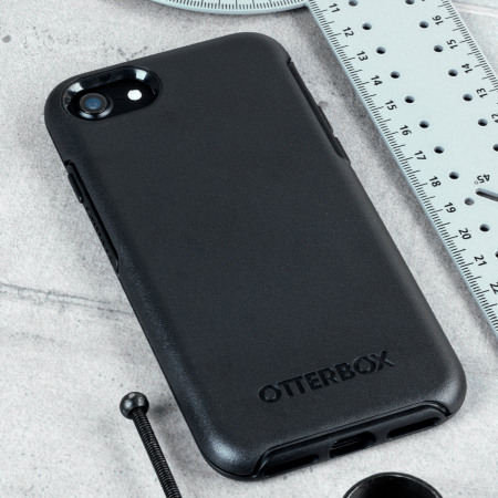 OtterBox Symmetry iPhone 8   7 Case - Black 28168a2c6c62