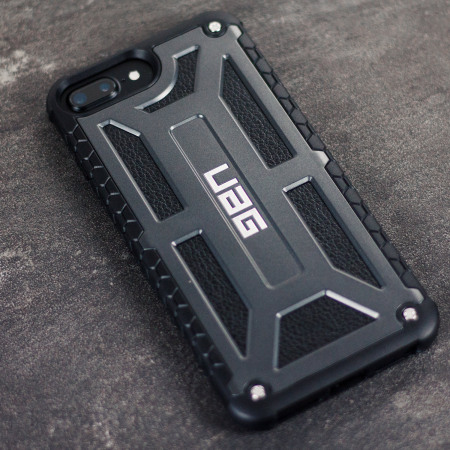 separation shoes f2b17 71e5a UAG Monarch Premium iPhone 8 Plus / 7 Plus Protective Case - Graphite