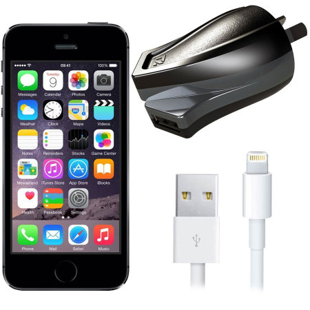 High Power 2.4A iPhone 5S Wall Charger - Australian Mains