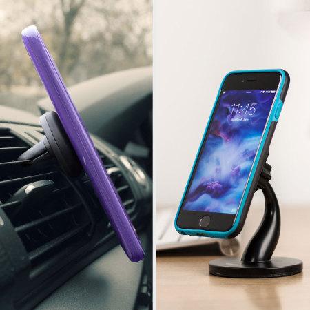 Soporte 2-en-1 para coche y escritorio Olixar Magnetic