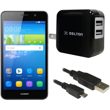 High Power 2.1A Huawei Y6 Wall Charger - USA Mains