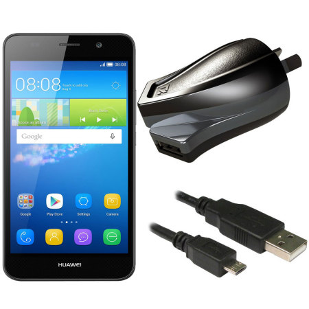 High Power 2.4A Huawei Y6 Wall Charger - Australian Mains