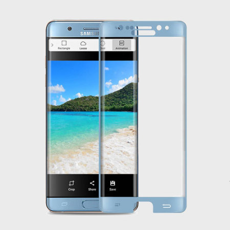 Zizo Full Body Samsung Galaxy Note 7 Tempered Glas Displayschutz