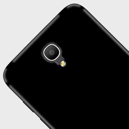Olixar FlexiShield Alcatel POP 4 Gel Case - Solid Black