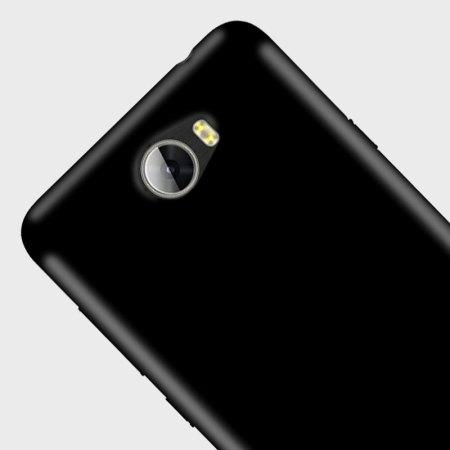 FlexiShield Huawei Y5II Gel Hülle in Solid Schwarz