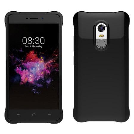 Olixar Flexishield Neffos X1 Max Gel Case - Solid Black