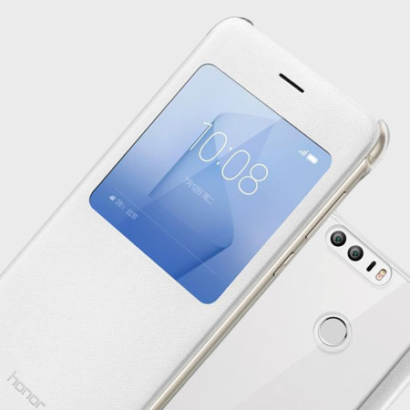 Housse officielle huawei honor 8 flip view blanche avis for Housse honor 8
