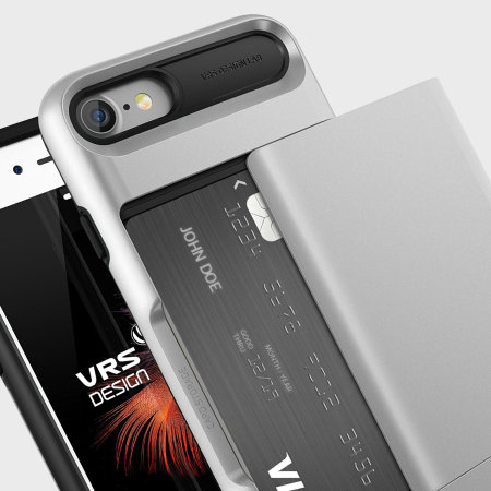 VRS Design Damda Glide iPhone 7 Case - Light Silver