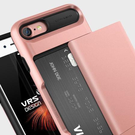 VRS Design Damda Glide iPhone 8 / 7 Case - Rose Gold