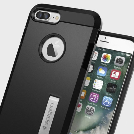 super popular e9d8d 3cac0 Spigen Tough Armor iPhone 7 Plus Case - Black