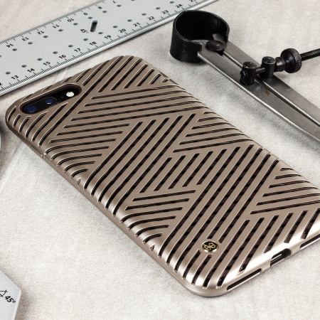 STIL Kaiser II iPhone 7 Plus Case - Champagne Gold