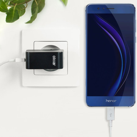 Olixar High Power 2.4A Huawei Honor 8 Wall Charger - EU Mains