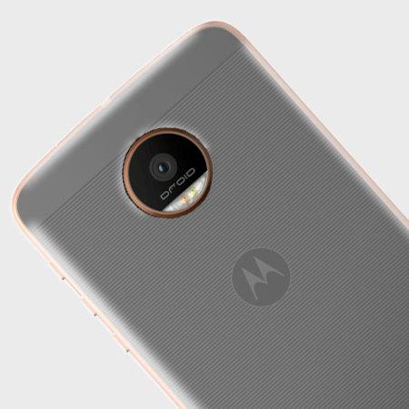 Olixar FlexiShield Motorola Moto Z Force Gel Case - 100% Clear