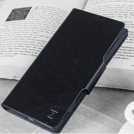 Olixar Leather-Style Sony Xperia XZ Wallet Case - Black