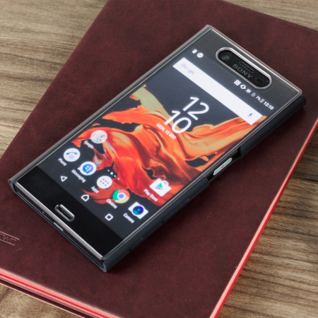 wholesale dealer fe768 dc7c5 Official Sony Xperia XZ Style Cover Touch Case - Black
