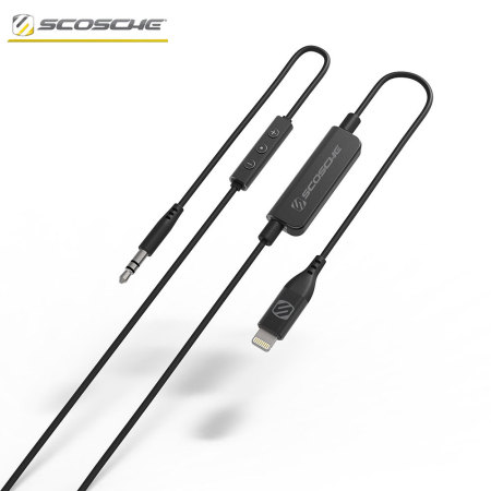 Scosche StrikeLine MFi iPhone X / 8 / 7 Lightning to 3.5mm Audio Cable