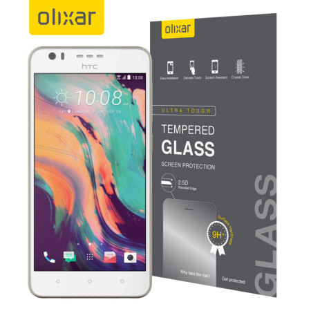 Olixar HTC Desire 10 Lifestyle Tempered Glass Screen Protector