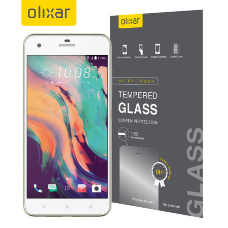 Olixar HTC Desire 10 Pro Tempered Glass Screen Protector