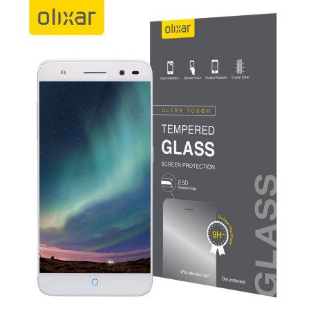 Olixar ZTE Blade V7 Lite Tempered Glass Screen Protector