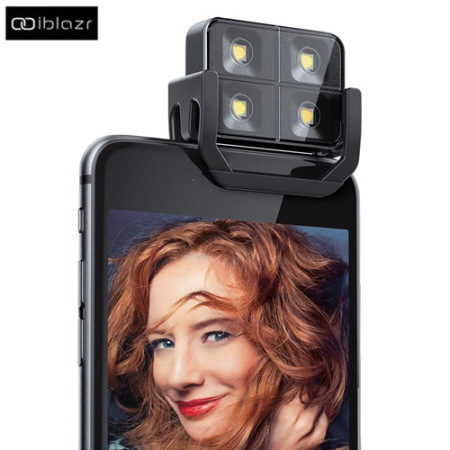 iblazr 2 Wireless LED Flash for Apple & Android Devices - Black