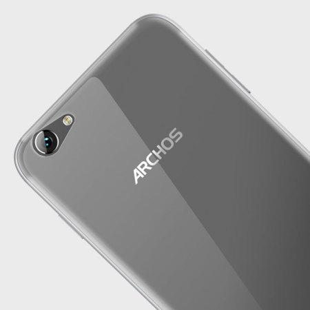 Olixar FlexiShield Archos 55 Helium Ultra Gel Case - 100% Clear