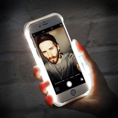 Casu iPhone 7 Plus Selfie LED Light Case - Rose Gold