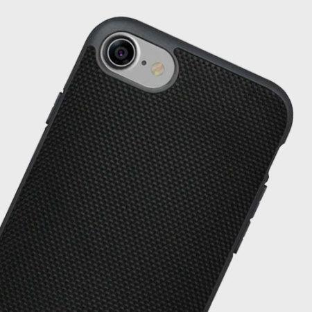 Evutec AERGO Ballistic Nylon iPhone 7 Tough Case - Black