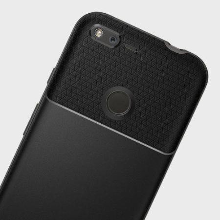 spigen neo hybrid google pixel xl premium case gunmetal