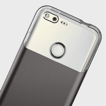 new styles 68a82 569af Spigen Neo Hybrid Crystal Google Pixel XL Premium Case - Gunmetal