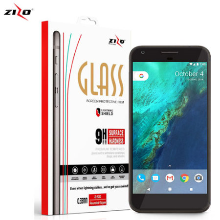 Zizo Lightning Shield Google Pixel Tempered Glass Screen Protector