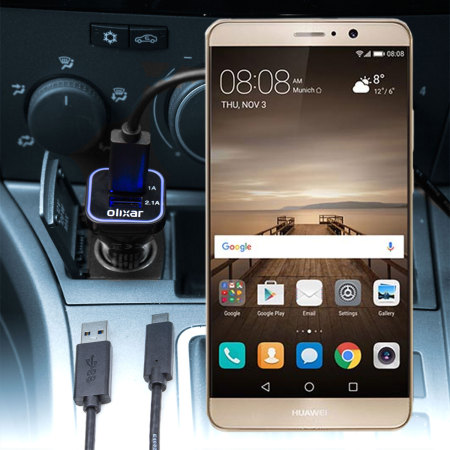 Olixar High Power Huawei Mate 9 Car Charger