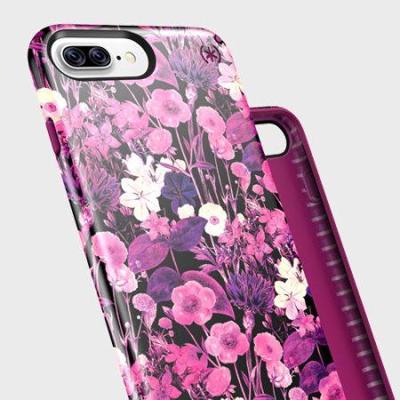 the best attitude c86a4 6a47d Speck Presidio Inked iPhone 7 Plus Case - Metallic / Magenta Pink