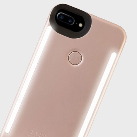 sale retailer 03df6 950e5 LuMee Duo iPhone 7 Plus / 6S Plus / 6 Plus Lighting Case - Rose Gold