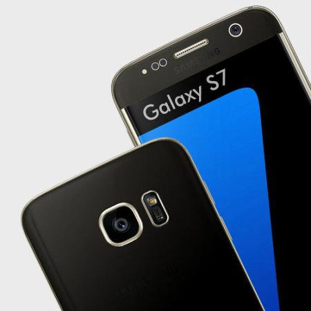 Easyskinz Samsung Galaxy S7 Deep Black Matt Skin - Black