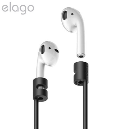 Elago iPhone 7 / 7 Plus AirPods Strap - Black
