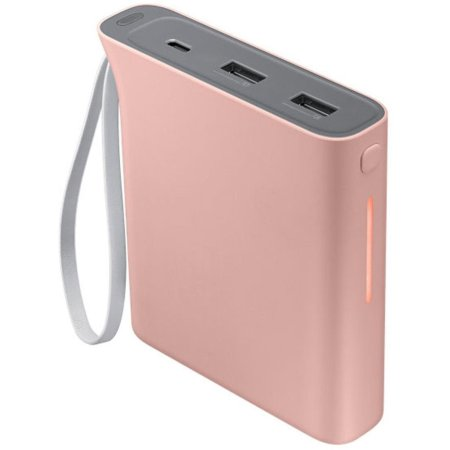 Official Samsung Evo Portable 10,200mAh Battery Pack - Baby Pink