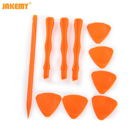 Jakemy Universal Anti-Static Fiber Toolkit for Smartphones - 10 in 1