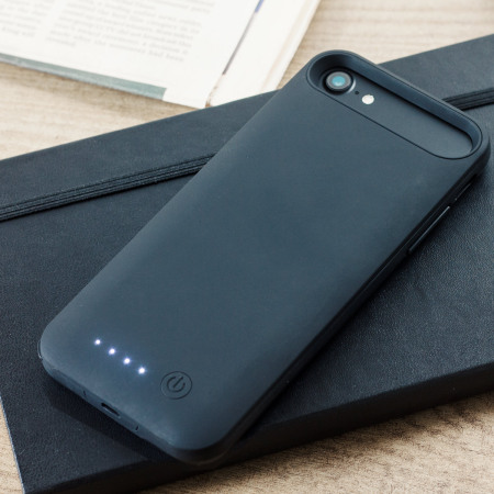 slim fit 4,000mah iphone 8 / 7 plus battery case - black reviews