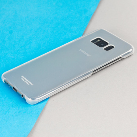 Official Samsung Galaxy S8 Clear Cover Case - Silver