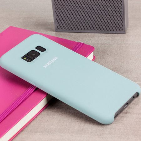 Official Samsung Galaxy S8 Silicone Cover Case - Blue