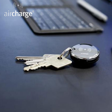 boasts the aircharge mfi lightning micro usb wireless charging keyring receiver enter code Samsung