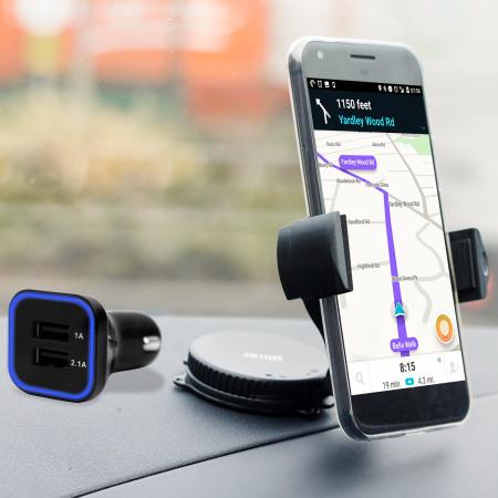 Olixar DriveTime iPhone 7 Bilhållare & Laddare