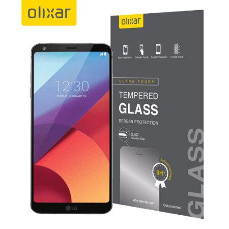 Olixar LG G6 Tempered Glass Skjermbeskyttelse
